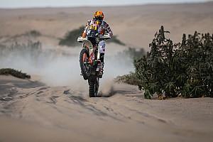 Dakar Noticias Laia Sanz atropelló a una llama y de pasó se mete al top 15