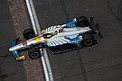 "IndyCar Chaves: ""I've never seen such a huge draft effect at Indy"""