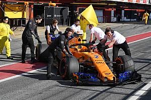 Formel 1 News Wieder zweimal Rot: McLaren wird zum Sorgenkind