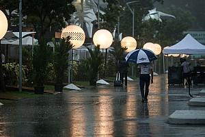 Formula 1 Breaking news Hujan turun untuk kali pertama di GP Singapura