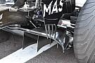 Formula 1 Williams: c'è un flap verticale sul bordo esterno del diffusore