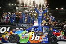 Kyle Busch completes Bristol hat trick with Cup win