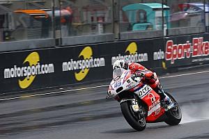 MotoGP Réactions Redding content du comportement de sa Ducati sous la pluie