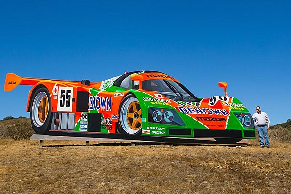 Automotive Breaking news Check Out This Giant Mazda 787B Billboard At Mazda Raceway