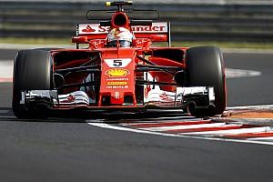 Formula 1 Testing report Hungary F1 test: Vettel leads second morning, Kubica seventh