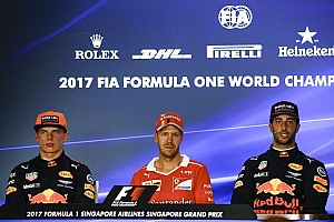 Formula 1 Press conference Singapore GP: Post-qualifying press conference