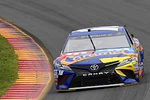 NASCAR Cup Qualifying report Kyle Busch earns third straight pole with Watkins Glen flyer