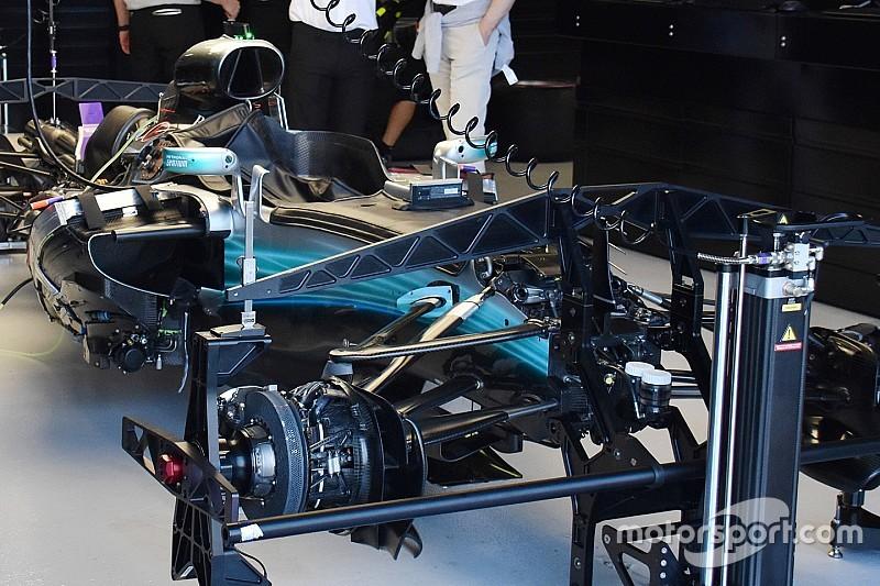 Galeria: detalhes técnicos dos carros em Melbourne
