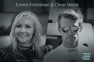 EGT Ultime notizie Oliver Webb ed Emma Kimiläinen fra le Tesla da corsa