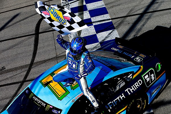 Stenhouse remembers Bryan Clauson after first Cup win