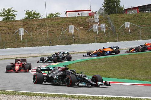F1: Hamilton supera Verstappen nas voltas finais e vence GP da Espanha em Barcelona