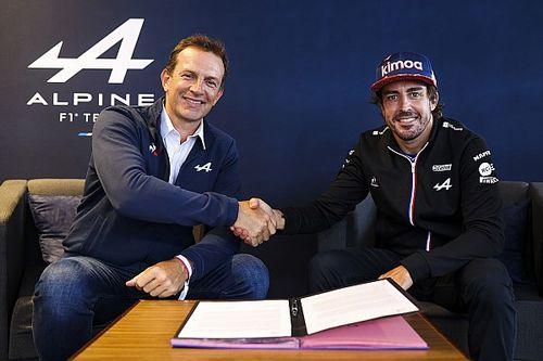 Alpine annuncia il rinnovo di Fernando Alonso per il 2022