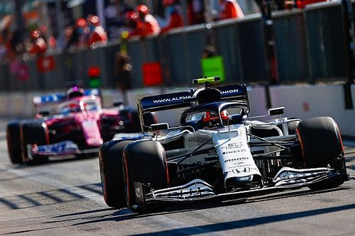 2020 F1 Italian Grand Prix race results