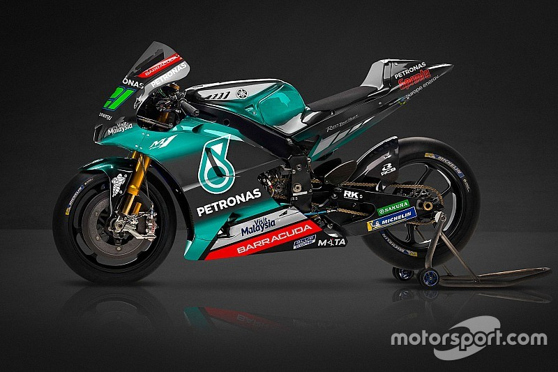New Yamaha MotoGP team reveals livery for debut season