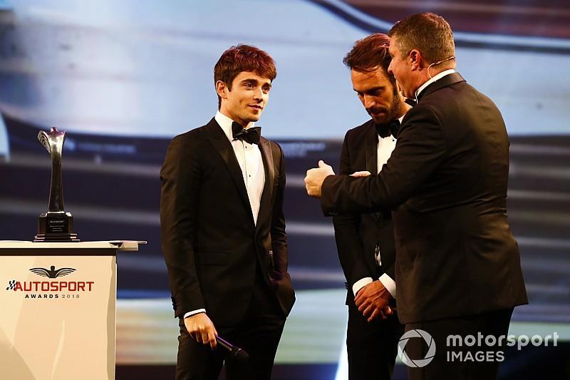 Leclerc sabet penghargaan Rookie of The Year