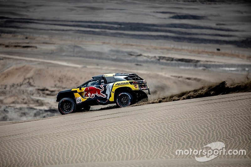 Dakar Stage 2: Loeb ungguli Roma delapan detik