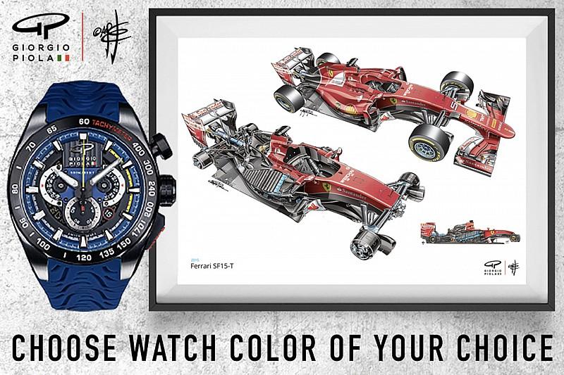Giorgio Piola lanza una campaña para conseguir su último reloj al mejor precio