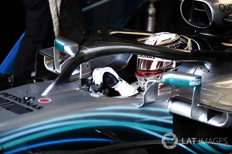 Hamilton nyerte a kaotikus belga időmérőt Vettel és Ocon előtt