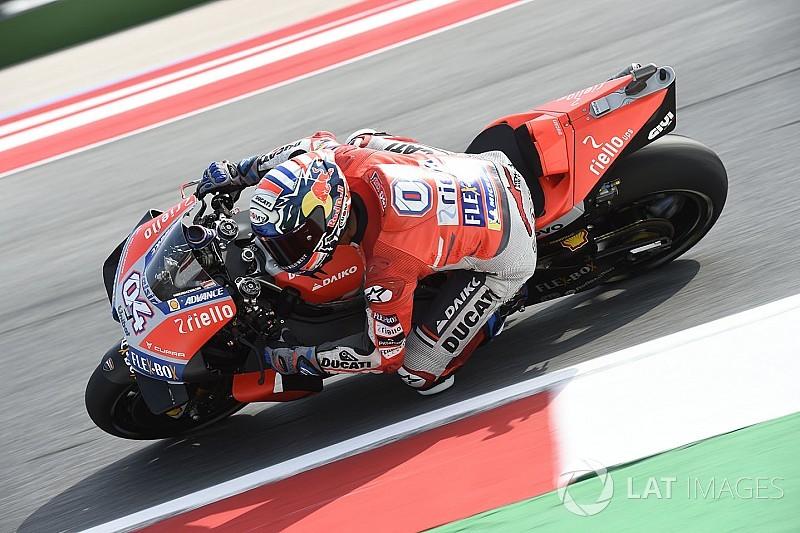 EL1 - Dovizioso prend les devants, Márquez et Rossi hors du top 10