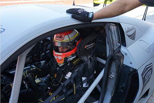 Esordio in Audi sulla pista di casa per Daniel Mancinelli