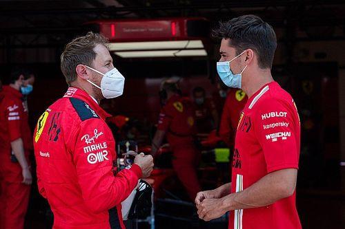 「僕たちは大人だ」フェラーリのベッテル、同士討ちを引きずらず前を向く