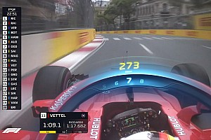 Formule 1 Actualités La F1 va tester plus de choses au niveau de l'affichage TV
