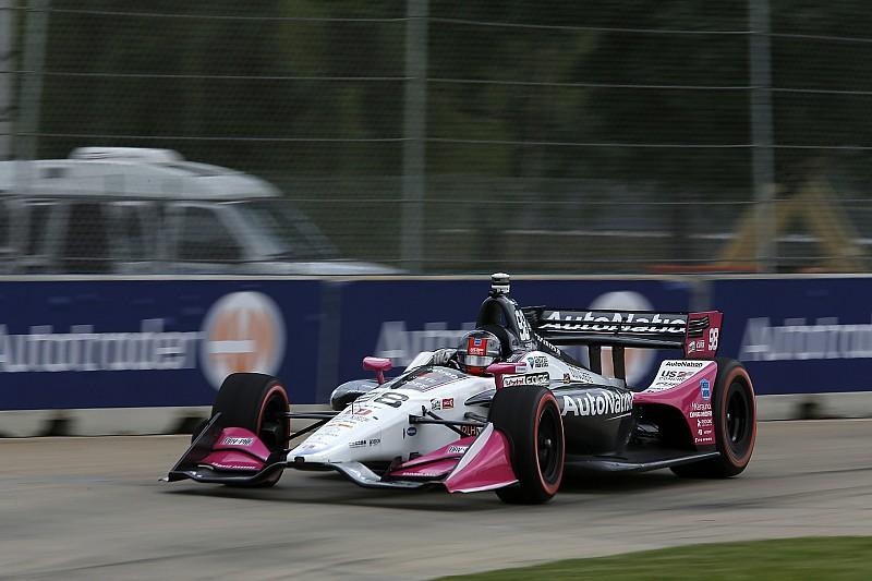 Індікар у Детройті: Андретті здобув поул першої гонки