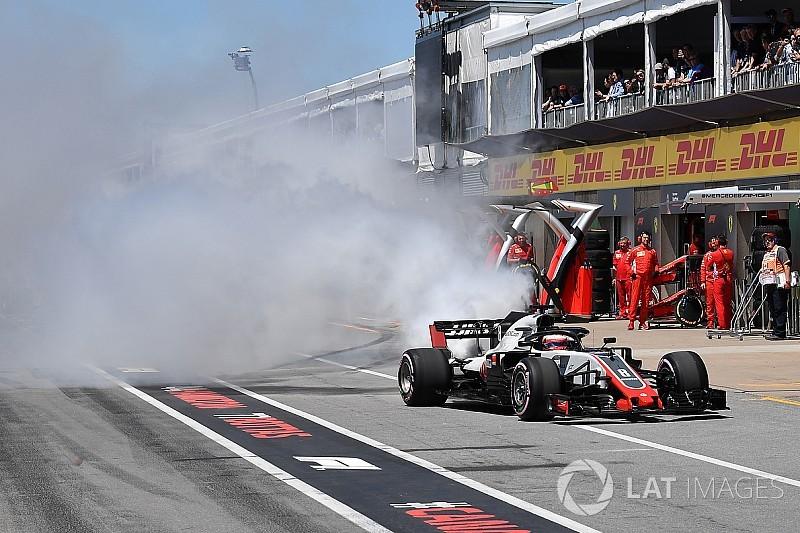 Haas dice que ni los rivales creen su mala suerte