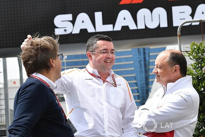 Boullier, McLaren'dan ayrılmayı düşünmüyor