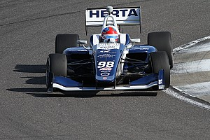 Indy Lights Race report Indy GP Indy Lights: Herta wins despite Turn 1 incident