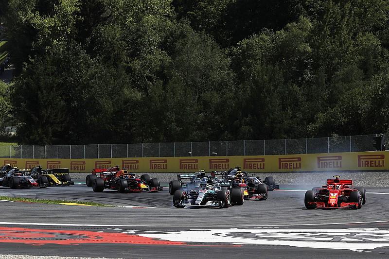 Videón Räikkönen brutális startja az Osztrák Nagydíjról