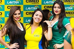 Grid Girls brilham antes de etapa da Stock Car em Goiânia