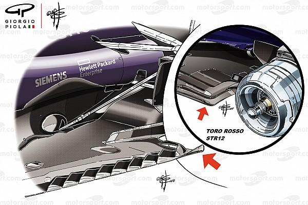 Fórmula 1 Análisis técnico: los cambios fundamentales en el piso del Red Bull F1