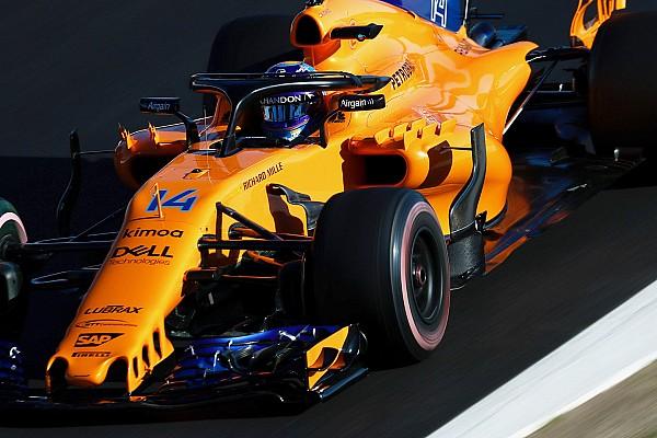 Formula 1 GALERI: Aksi mobil McLaren MCL33 di tes F1 Barcelona