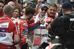 MotoGP Motorsport.com hírek Lorenzo figyelni fog Dovira a hétvégén - kész segíteni