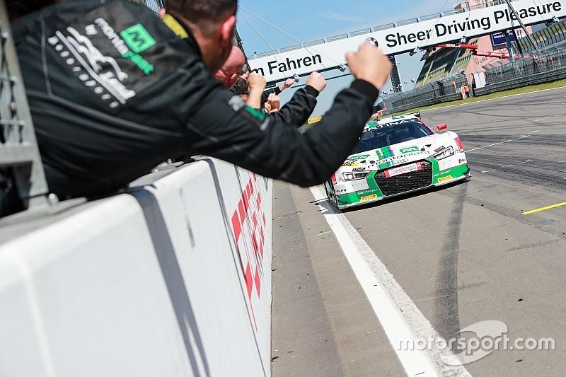 GT-Masters am Nürburgring: Audi schlägt mit Doppelerfolg zurück
