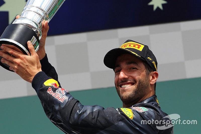 Риккардо признан лучшим пилотом Гран При Германии