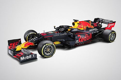Red Bull shows off its 2020 F1 car