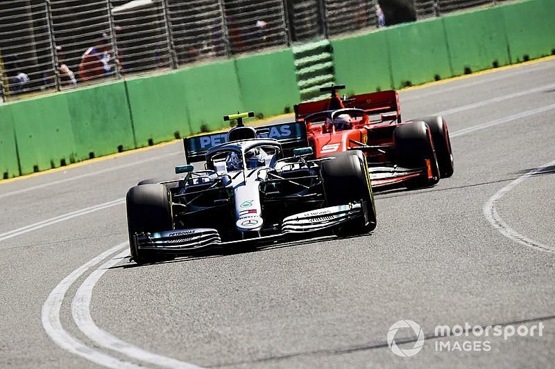 Vettel: Mercedes est
