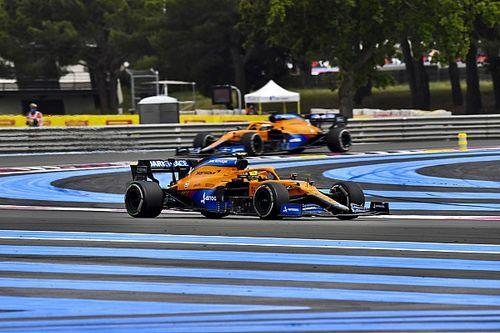 Norris szerint Ricciardo túl kemény volt vele a Francia Nagydíjon