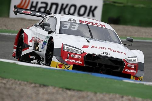 DTM Hockenheim: Rast wint eerste race, Frijns vierde