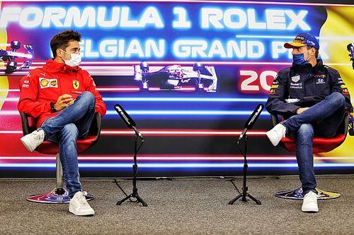 """Leclerc: """"Verstappen şampiyonluk için hazır olduğunu gösteriyor"""""""