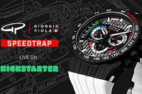Giorgio Piola lanza campaña de Kickstarter para nuevo reloj