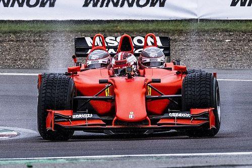 Supertest: sulla Ferrari F1 3-Seater con Leclerc