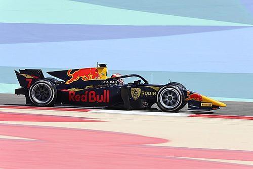 Юниоры Red Bull выиграли первую гонку Ф2 в 2021 году