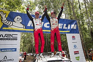 ラリー豪州:トヨタ、WRC復帰2年目で戴冠! ライバル脱落でオジェが王者に