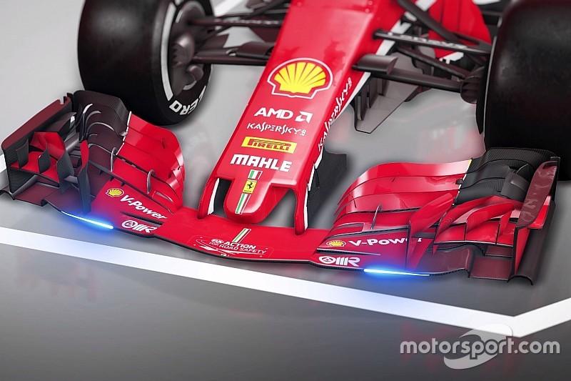 Exkluzív animáción a Ferrari fejlesztései az Orosz Nagydíjról