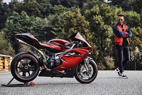 Bildergalerie: Lewis Hamilton und sein Motorrad von MV Agusta
