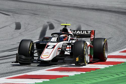F2, Stiria, Sprint Race: dominio di Christian Lundgaard