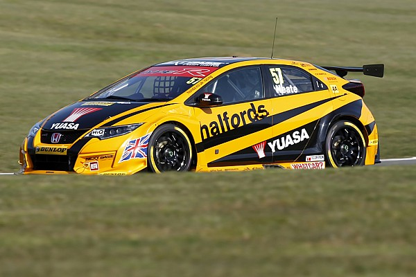 Honda BTCC team splits with Neate